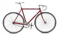 Fuji Feather 2014 red fixed gear